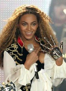 Beyonce Tin Man Glove Metropolis